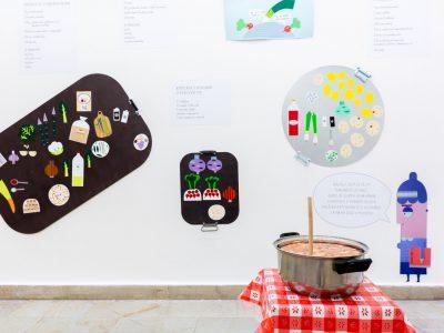 Interaktivní výstavní projekt Zachraň jídlo!